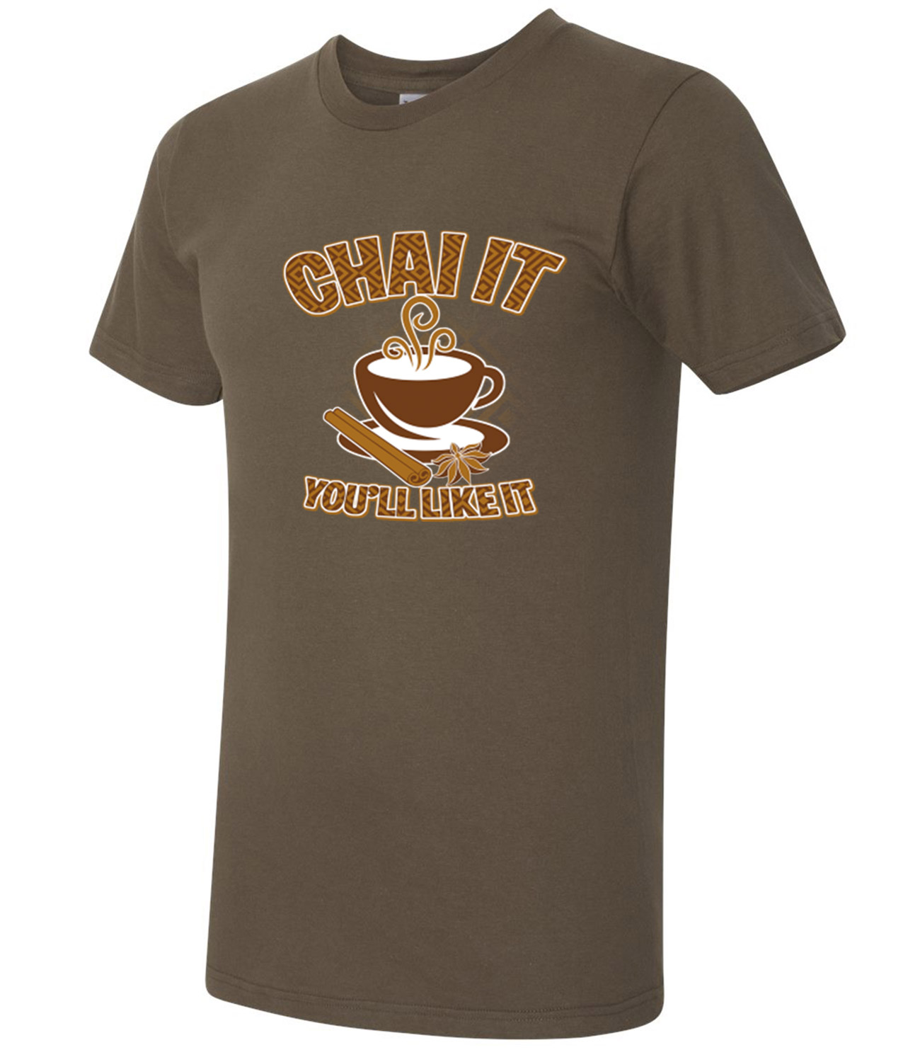 Chai it American Apparel Tea time party and Cup AA T-shirt -